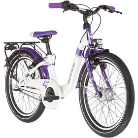 s'cool chiX alloy 20 3-S Kinderen, white/violett
